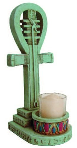 Egyptian Ankh Candle Holder