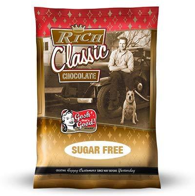 Sugar Free Rich Classic Chocolate 2 lb. Bag - By Gosh That's Good! Brand by Gosh That's Good! Brand