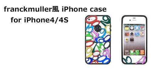 906f37ed05 Amazon | franckmuller風 フランクミューラー風 iphone4 iphone4S 硬質シリコン ケース iphone4Sケース  iphone4ケース i-phone iphoneケース 04 | ケース・カバー 通販
