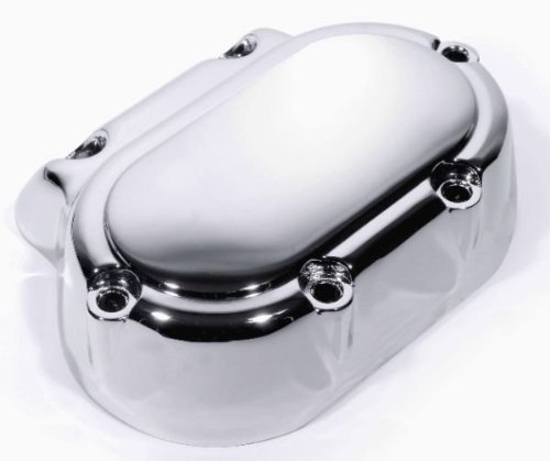 Getriebedeckel Chrom End Cover fü r Harley Big Twin Cam Evo 1987-2006 ZEMEX.bike
