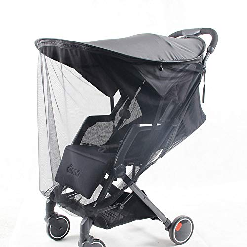 Stroller Sun Shade Universal Mosquito Net Rain Cover Awning Sunscreen, Summer UV Protection, Canopy Extender, Rayshade for Pram Baby Carriages, - Uv Protection Rayshade