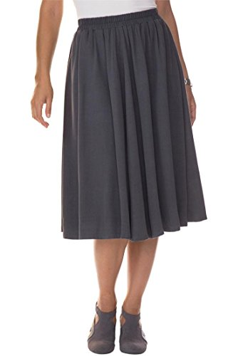 Jessica-London-Womens-Plus-Size-Midi-Flared-Skirt