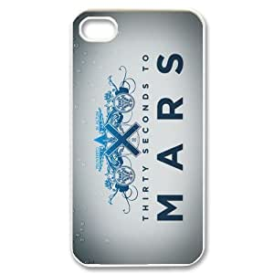 Fashion 30 Seconds To Mars Personalized iPhone 4 4S Hard Case Cover -CCINO by runtopwell