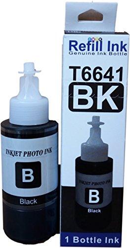 Flowjet Refill Ink Bottle for Epson Printer L100/L110/L130/L200/L210/L220/L355 (Pack Of 4) (Multicolor)