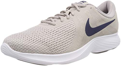 NIKE Revolution 4 EU, Scarpe da Fitness Uomo Multicolore (Moon Particle/Midnight Navy 201)
