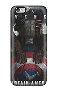 Tpu Case Cover Compatible For Iphone 6 Plus/ Hot Case/ Awesome Captain America The First Avenger