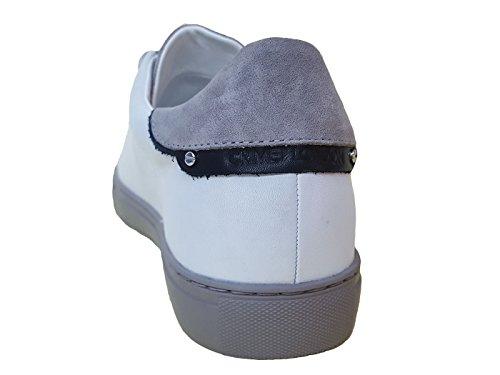 Sneaker Bianco London Uomo Bianca MainApps Crime Crime London 11206 IfTxq