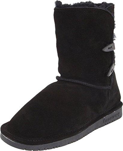 BEARPAW Women's Abigail Winter Boot, Black, 6 M - Cambridge Shopping Center