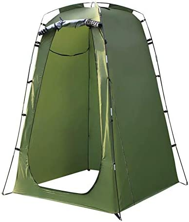 N M Privacy Shower Tent,Lightweight and Sturdy,Instant Portable Outdoor Shower Tent