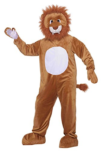 (Forum Novelties Men's Leo The Lion Plush Mascot Costume, Multi,)