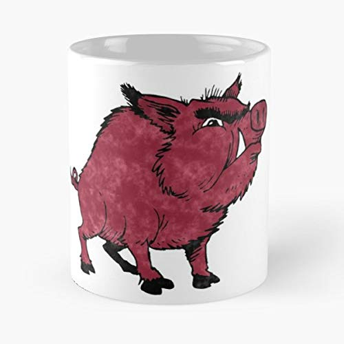 Arkansas R - Morning Coffee Mug Ceramic Best Gift ()