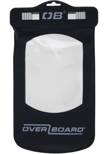 Overboard Waterproof Case for iPhone/iPod Touch/Droid/HTC EVO 4G- Black