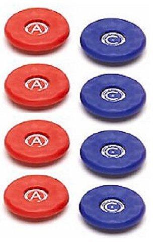 American Replacement Medium Size Shuffleboard Puck Tops 1 7/8