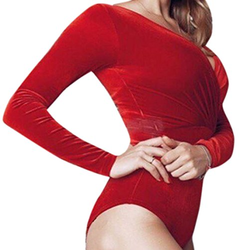 erdbeerloft - Camisas - Opaco - para mujer Rojo