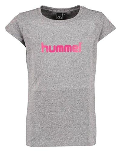 Hummel Mädchen Veni SS Tee AW16 T-Shirt, Medium Melange, 140