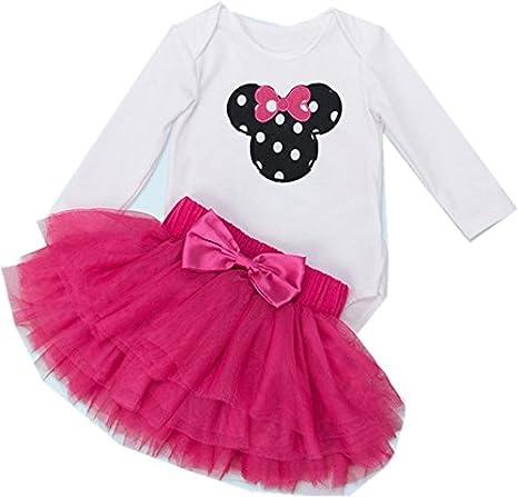 1c2ce47ed Amazon.com  WINMI Baby Girls  1st Birthday Tutu Outfit Newborn Party ...
