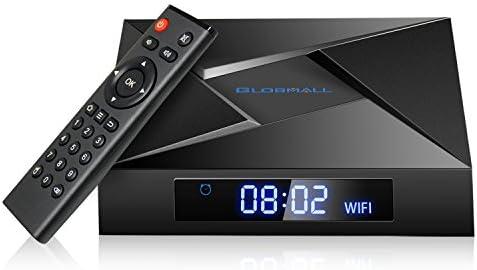Globmall X4 Android 7.12 TV Box 2GB RAM +16GB con Bluetooth 4.0 y WiFi Amlogic S905W Quad Core CPU 4K Smart TV Box: Amazon.es: Electrónica