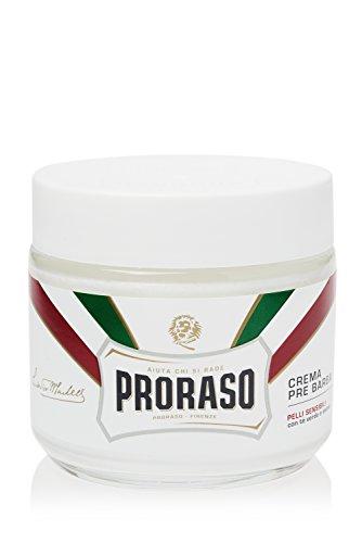 Proraso Pre-Shave Cream, Sensitive Skin, 3.6 (Bigelow Shaving Cream)
