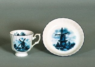 Delft Handcrafted In Holland Tea Pot V Ter Steege B