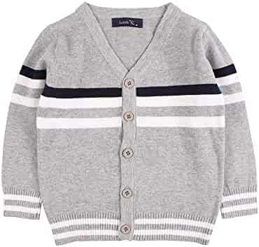 Jomake Toddler Baby Boys Pullover Sweaters Long Sleeve Round Neck Sweatshirts for Autumn /& Winter