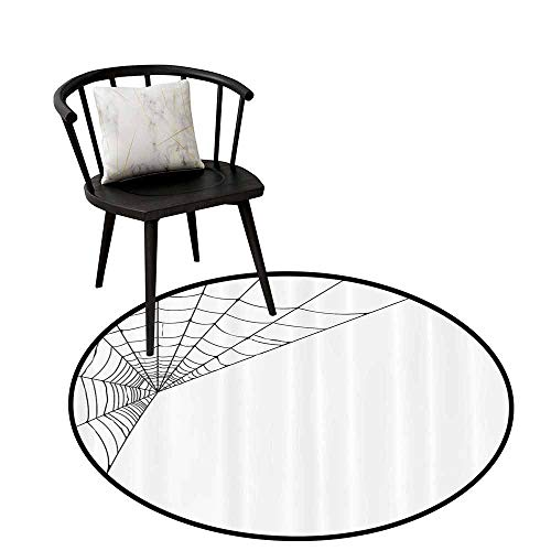 Warm Round Rug Modern Can be Folded Spider