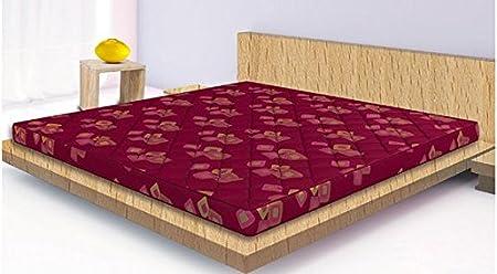 Sleepwell Activa Supportec Mattress - (72 x 48 x 4 Inches, Maroon)