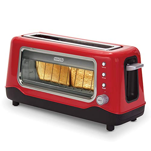 Clear View Toaster, Red