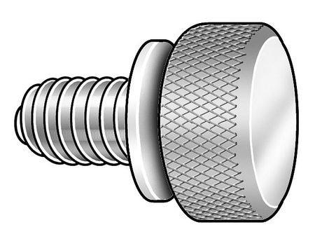Thumb Screw 10-24x3//4 L Knurl Pk5