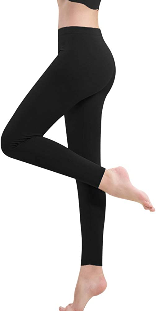 MANCYFIT Womens Thermal Pants Seamless Leggings Double Fleece Lined Base Layer