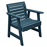 Highwood Weatherly Garden Chair, Nantucket Blue