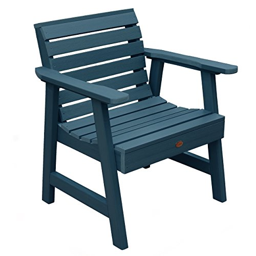 Highwood Weatherly Garden Chair, Nantucket Blue