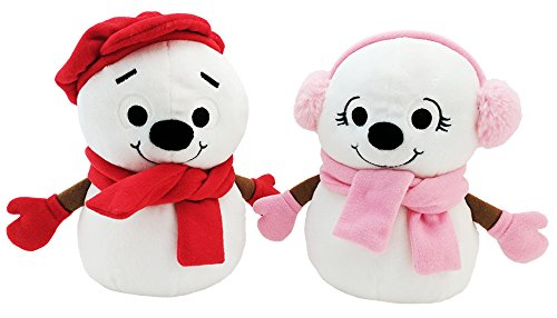 Little Snowflake Snowboy & Snowgirl Official Plush Characters (2pc set) ()