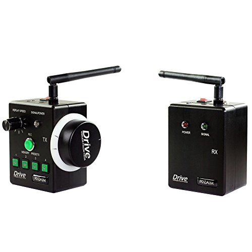PROAIM Drive Wireless Follow Focus gear ring controller for Dslr FREE HARDCASE sony nikon canon panasonic lumix (FF-WRLS-DR) by PROAIM