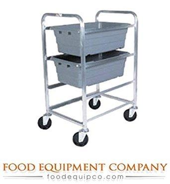 Winholt AL-L-3 Mobile Lug Carts, Aluminum, 19'' x 27'' x 41'' Size