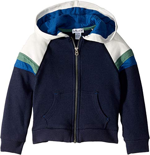 Splendid Boys' Kids and Baby Hoodie Sweatshirt, True Navy, 12/18 (Splendid 6pm)