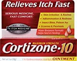 Product review for Cortizone 10 Maximum Strength Hydrocortisone Anti-Itch Ointment - 1 Oz