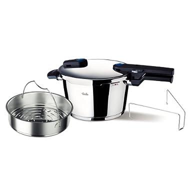 Fissler Vitaquick Pressure Cooker, 6.3qt
