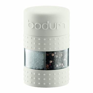 Bodum Bistro Salt and Pepper Grinder, Off-White
