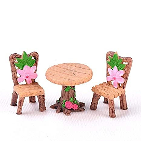 Amazon.com: ZAMTAC - Juego de mesa para sillas, diseño de ...