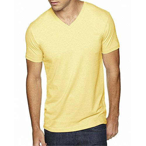 Next-Level-Apparel-6440-Mens-Premium-Fitted-Sueded-V-Neck-Tee