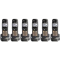 Panasonic KX-TGA939T 1.9GHz DECT 6.0 Additional Handset for Cordless Phone System (6 Pack)