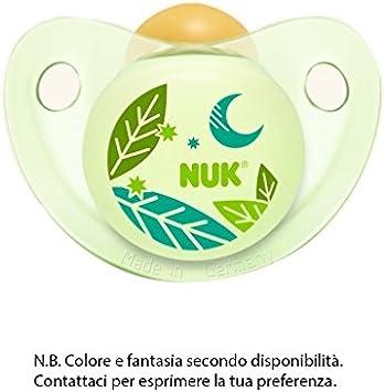 NUK Night y Day Chupete de látex talla 2 1 pieza: Amazon.es: Salud ...