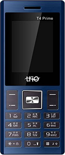 Trio T4 Prime  Blue Black  Basic Mobiles