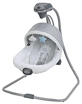 Graco Baby Oasis Swing with Soothe Surround Technology, Azure