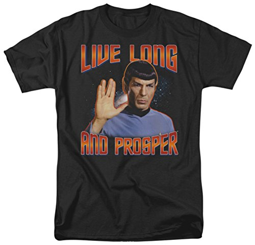 Star Trek - Live Long and Prosper T-Shirt Size XXXL