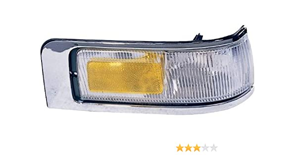 Depo 331-1546L-US Mercury Sable//Taurus Driver Side Replacement Side Marker Lamp Unit without Bulb
