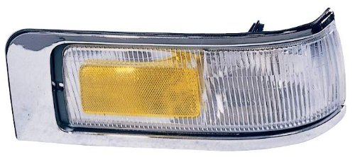 Depo 331-1544L-US Lincoln Town Car Driver Side Replacement Side Marker Lamp Unit without Bulb (Lamp Town Car Side Marker)