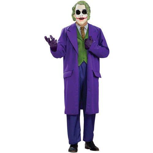 Deluxe Joker Adult Costume - Plus (The Joker Costumes For Adults)