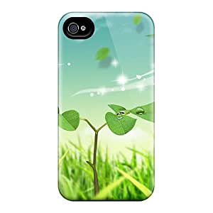 Durable Case For The Iphone 4/4s- Eco-friendly Retail Packaging(butterfly)