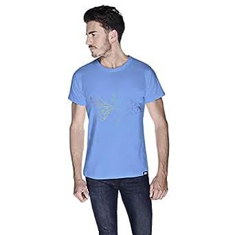 Creo Fish Animal T-Shirt For Men - S, Blue